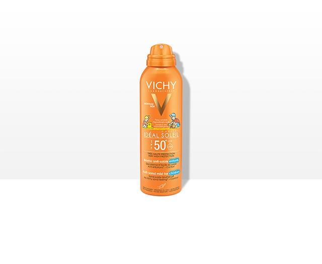 Сонцезахисний спрей для дітей з технологією «Анти-Пісок» SPF 50+