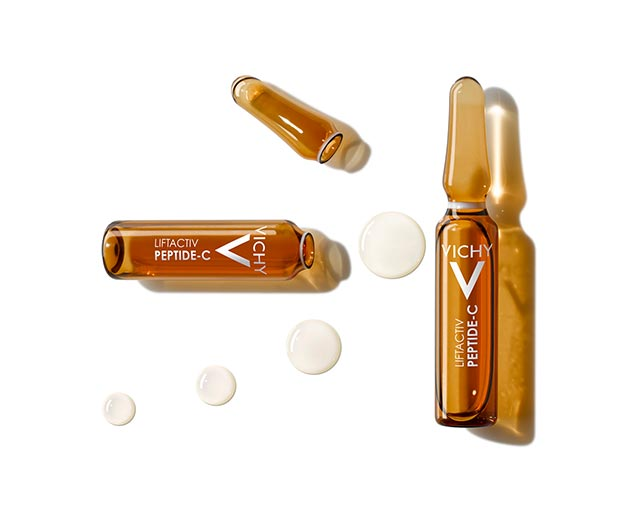Пептид-С, Антивіковий концентрат в ампулах для догляду за шкірою